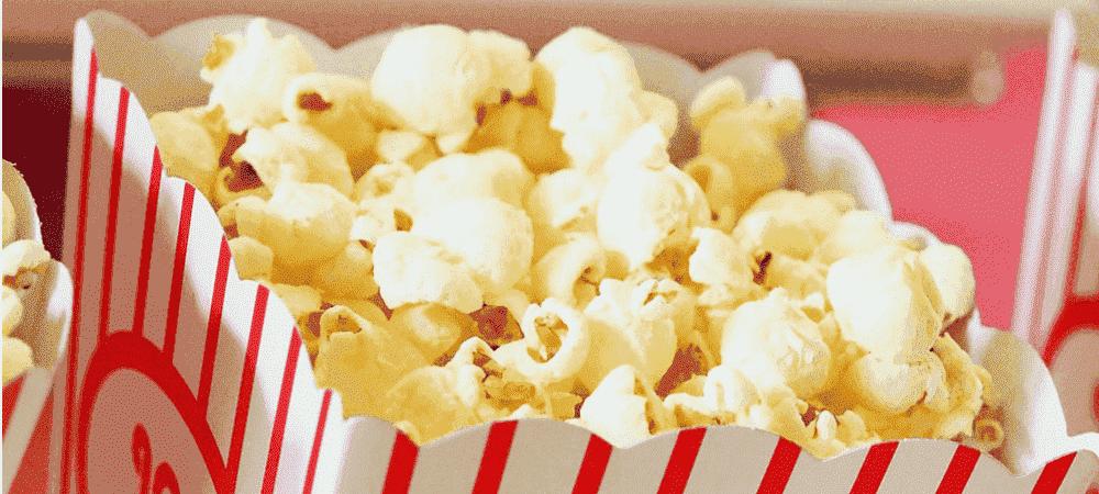 Попкорн и сахарная вата как бизнес баннер