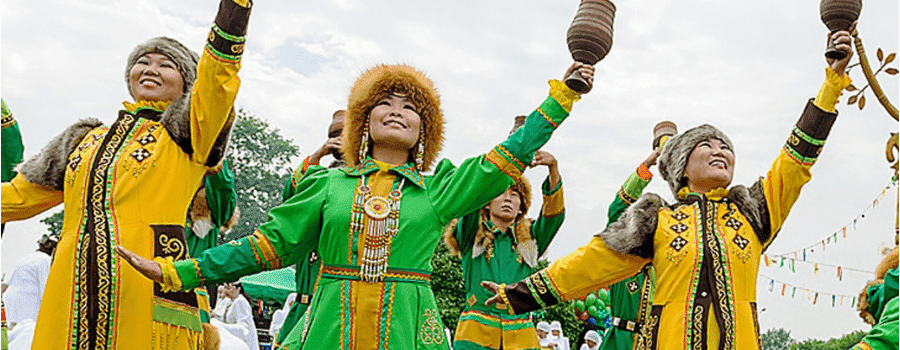 Новогодние традиции народов России Якутия