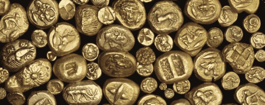 Как появились деньги монеты