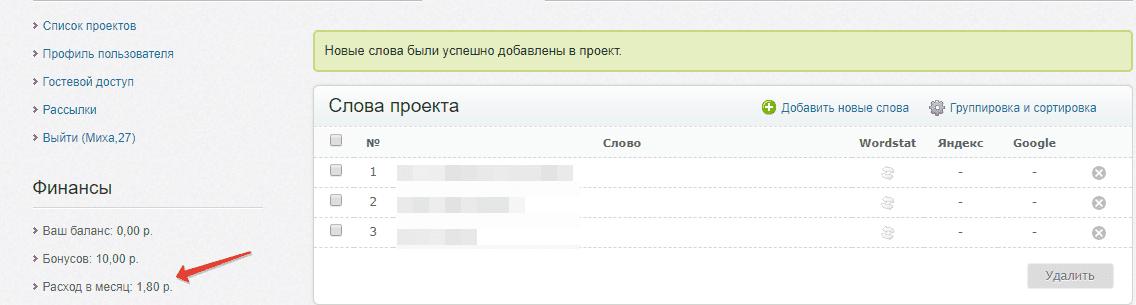 проверка позиций сайта в поисковиках проект